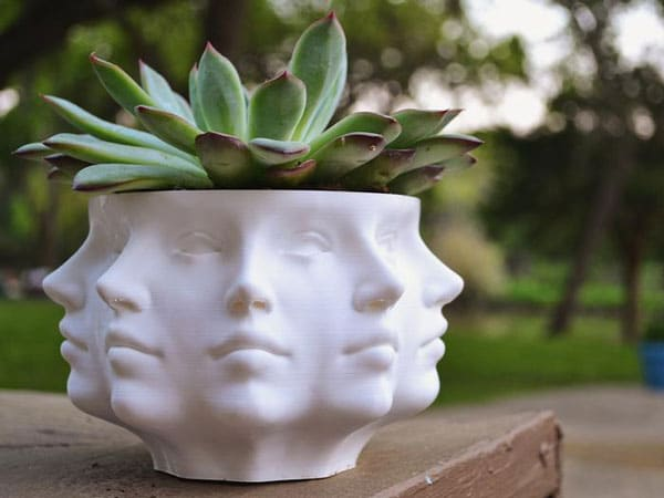 Nine Faced Planter - Unusual Gifts For Gardeners