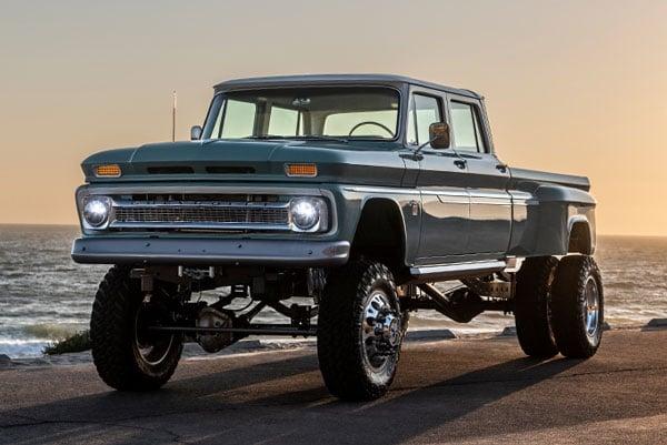 1966 550HP Chevy Ponderosa Pickup Truck