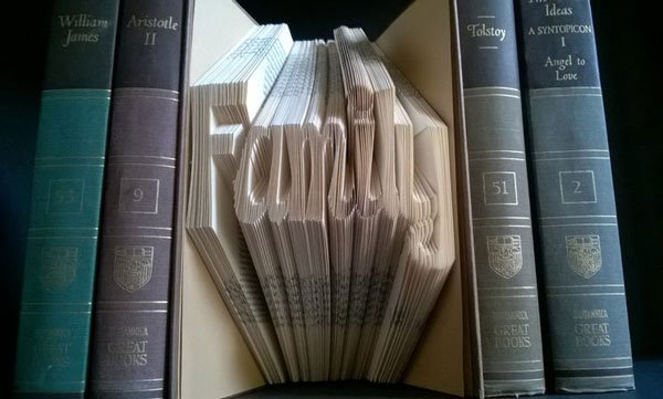 Family Folded Book