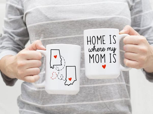 Home Is Where My Mom Is Coffee Mug