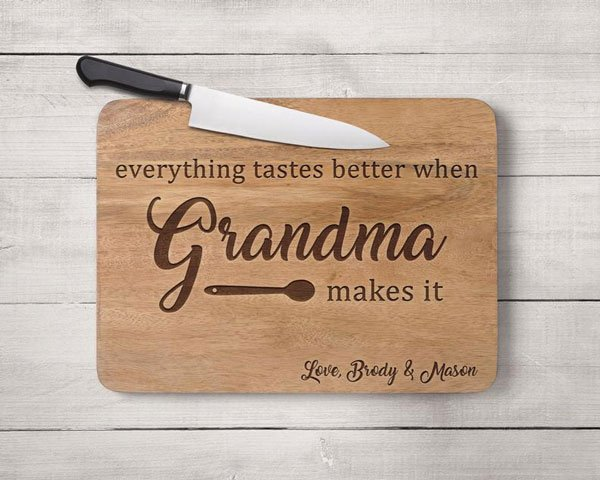 Personalised Mother's Day Cutting Board