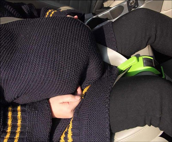 Pregnancy Car Seat Belt