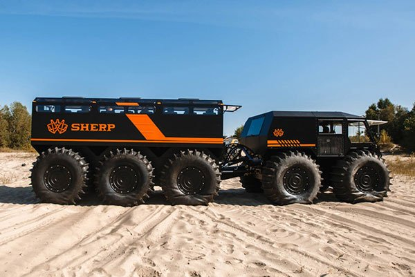 SHERP's 22-Person All-Terrain Fortress