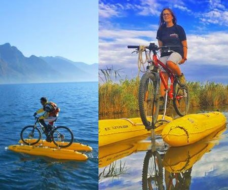 ShuttleBike Pontoon Bike Conversion Kit