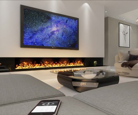 Water Vapor Fireplace