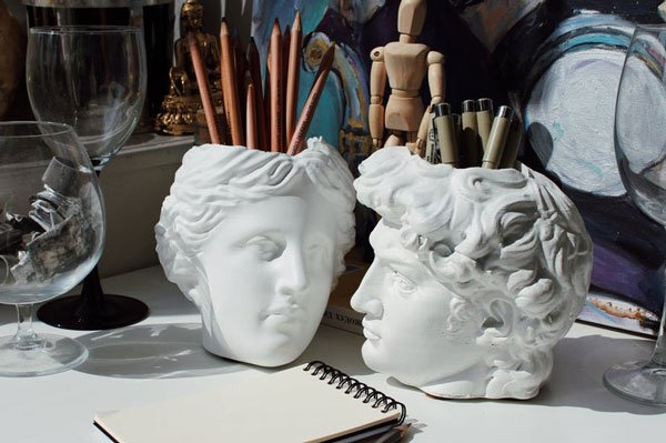 David & Venera Antique Pen Holder Head