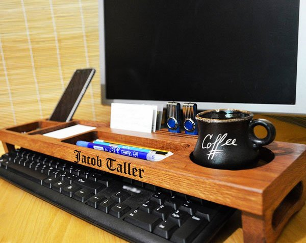 Personalized Office & Home Desk Organizer