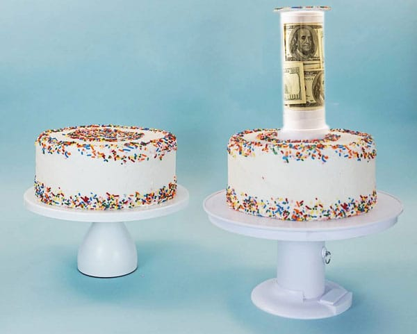 Surprise Cake Gift Stand