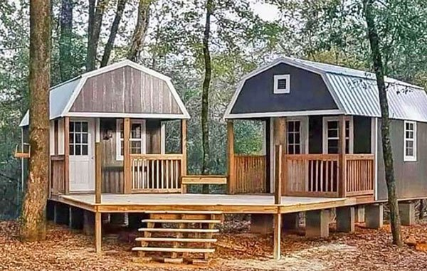 We-Shed: Dual Shed For Him And Her