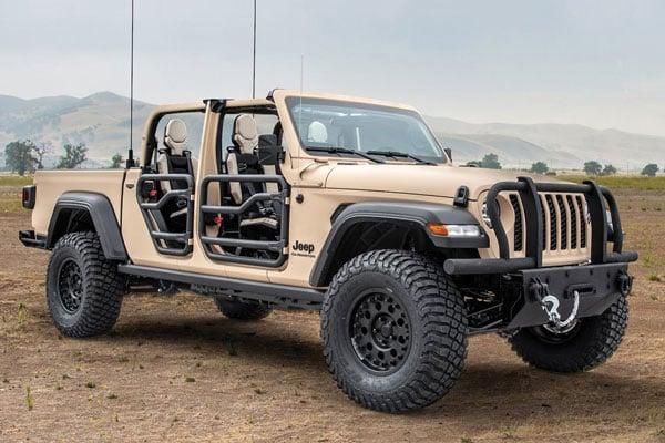 Tactical Mil-Spec Gladiator Off-Road Pickup