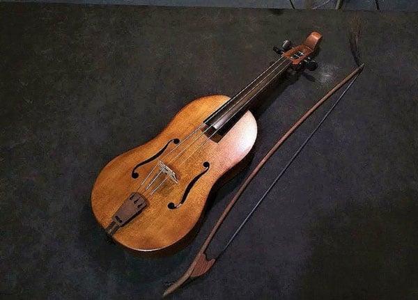 Vielle - Unusual Musical Instruments