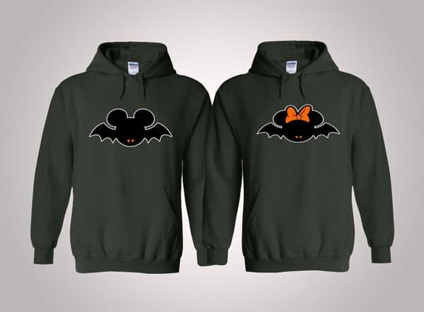 Couples Matching Disney Halloween Hoodies
