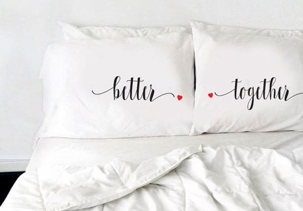 Couples Pillow Cases