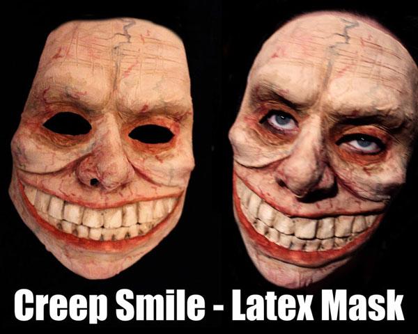 Creep Smile Latex Halloween Mask