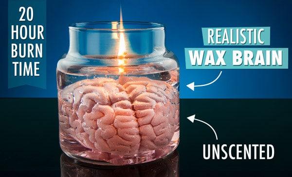Creepy Cerebral Candle