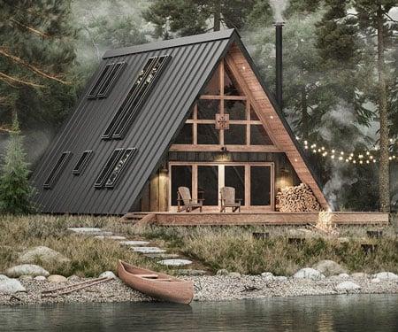 DIY A-Frame Cabin Kit