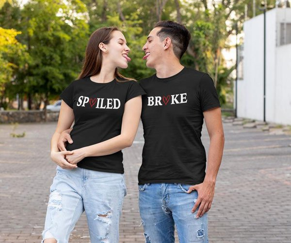 Funny Couples Matching T-Shirts