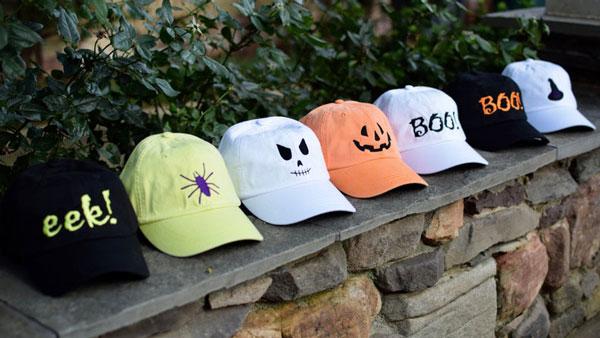 Halloween Baseball Caps