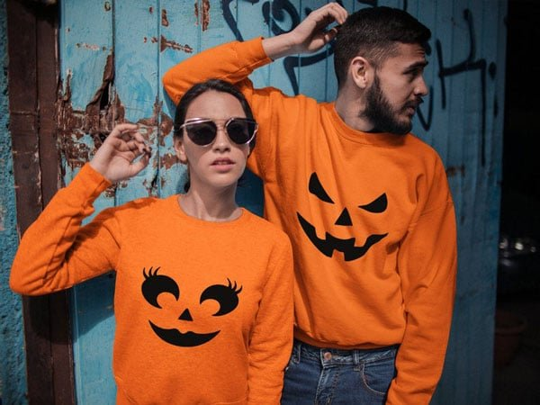 Halloween Couples Sweaters