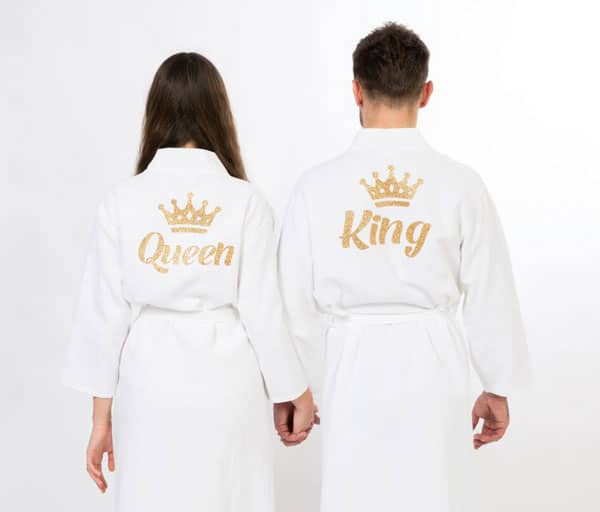 His and Hers Bath Robes
