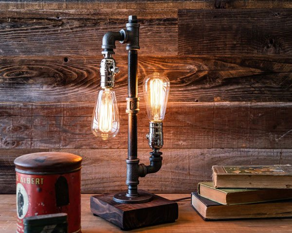 Industrial Edison Steampunk Table Lamp