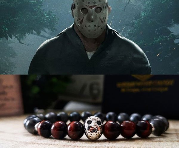 Jason Voorhees Halloween Bracelet