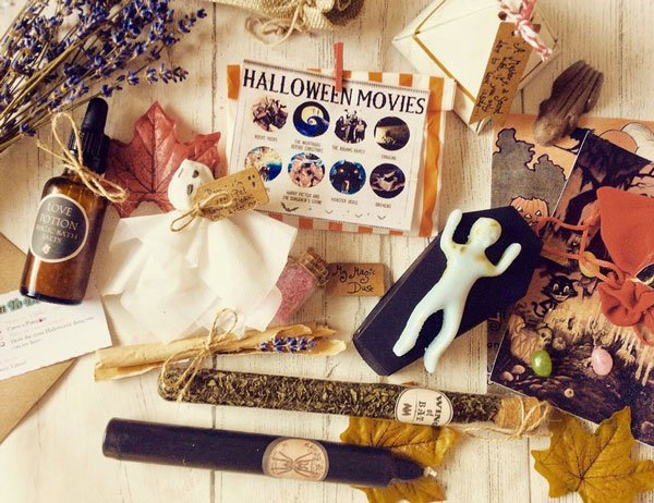 Personalised Halloween Gift Basket