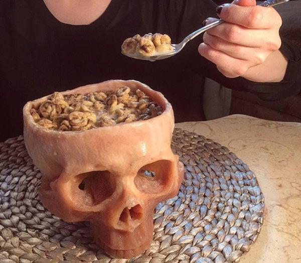 Skull Bowl (Food Safe)