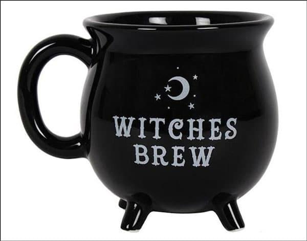 Witches Brew Cauldron Shaped Mug