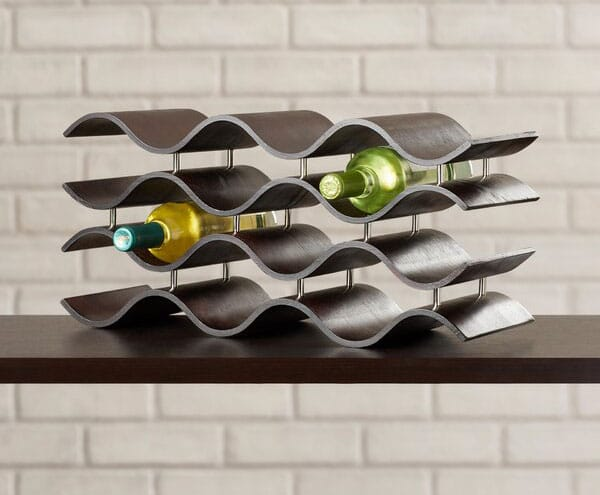 Wittmer 12 Bottle Tabletop Wine Bottle Rack