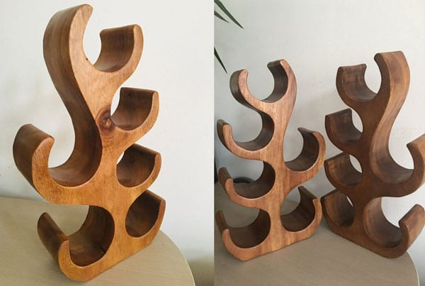 Wooden Wine Tree - Free Standing