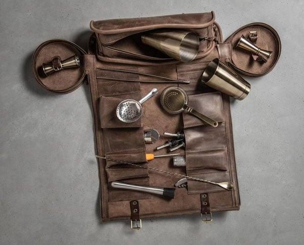 Barmen Roll Bag Portable Kit