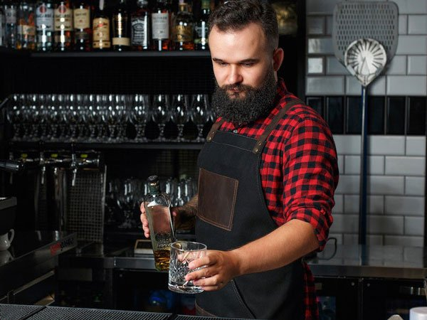 Bartender Apron with Pockets