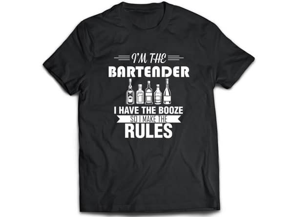 Funny Bartender Shirt