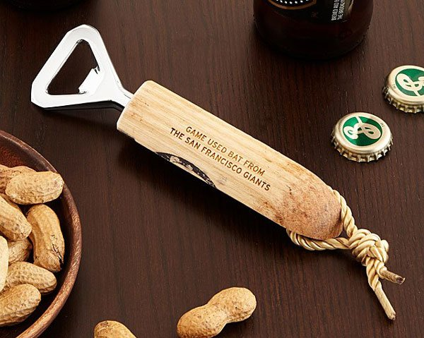 MLB Game Used Baseball Bat Bottle Openers