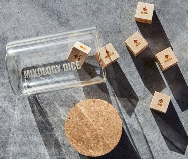 Mixology Dice Tumbler Set