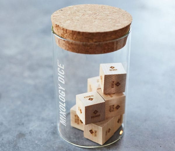 Mixology Dice Tumbler Set
