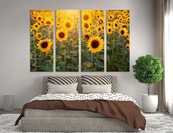 Sunflower Wall Art Print - sunflower gift ideas
