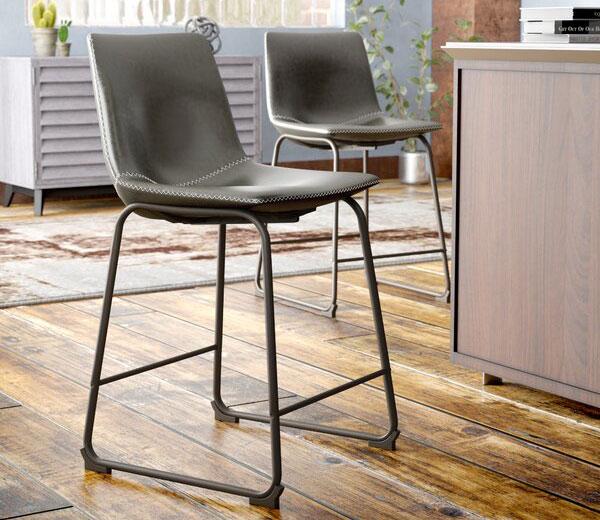 Trent Austin Design Bamey Bar & Counter Stool