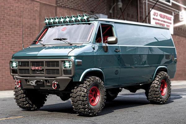 Fully-Fortified Adventure Van