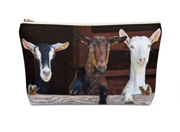 Goat Toiletry / Cosmetic Bag