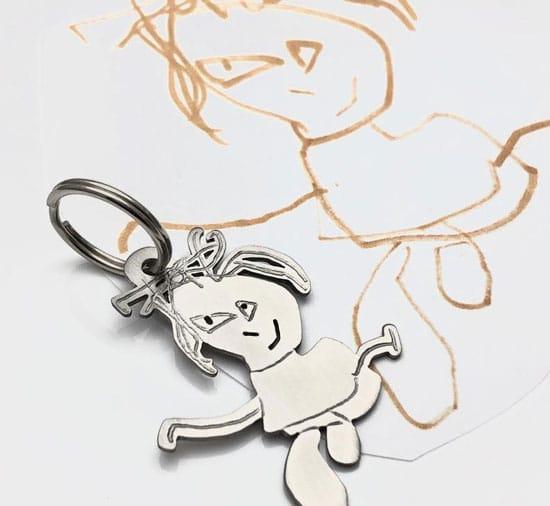 Kids Art Jewelry Customization