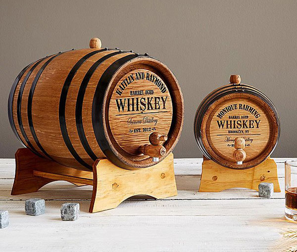 Personalised Whiskey Barrels