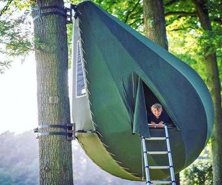 Raindrop Shaped Tree Tents