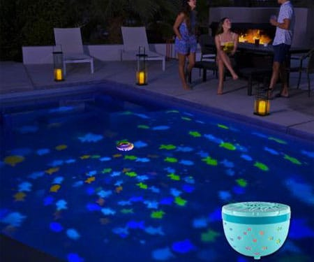 Floating Projection Fish Pool Light