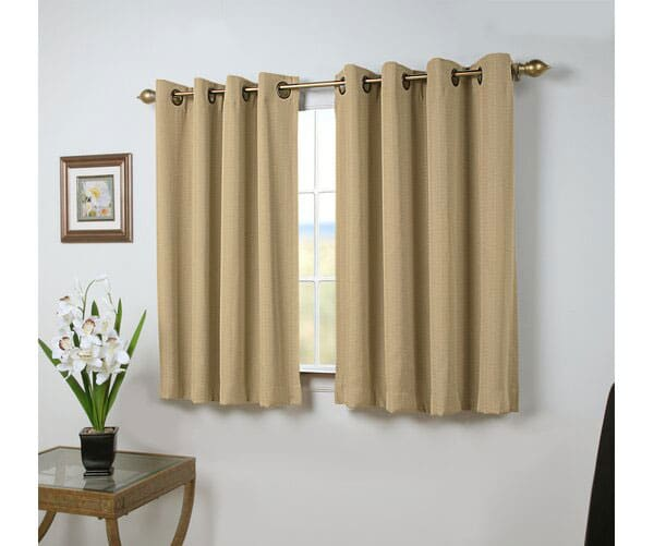 Johnson Village Solid Room Darkening Grommet Curtain Panels