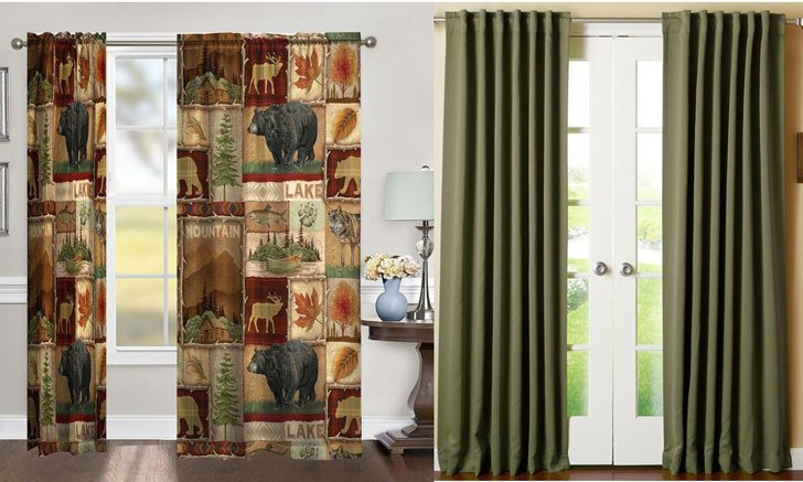 Masculine Curtain Ideas For Men