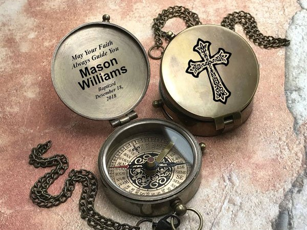Personalized Compass - Gift Ideas for Boaters