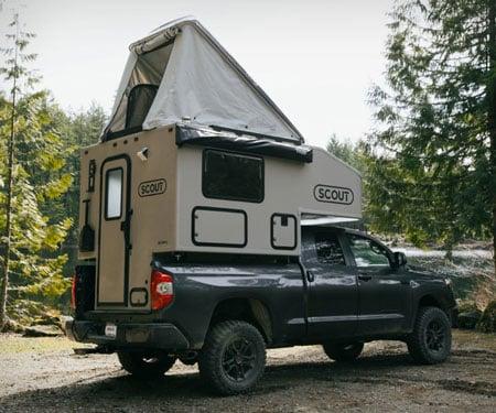 Scout Pickup Camper