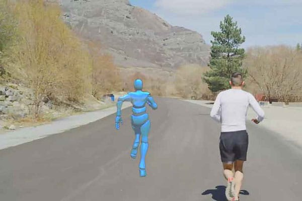 Personal Holographic Workout Partner